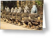 Angkor Thom Greeting Card