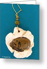 Aphrodite Earring Greeting Card
