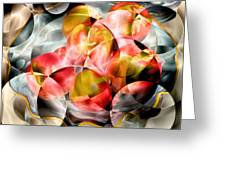 Apple Bowl Greeting Card