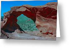 Arch Rock - Valley Of Fire State Park Greeting Card