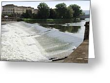 Arno River 2 Greeting Card