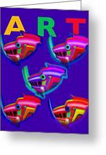 Art Greeting Card