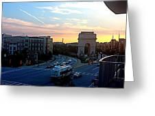 Atlantic Station Sunset Vista  Greeting Card
