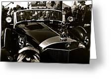 Auction Sale Last Ride Adolf Hitler's Model 770-k 1941 Mercedes-benz Touring Car Scottsdale Az 1973 Greeting Card