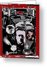 Auction Sale Of Adolf Hitler's Model 770-k 1941 Mercedes-benz Touring Car In Scottsdale Az 1973 Greeting Card