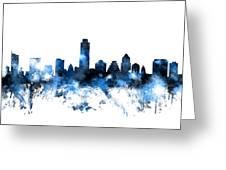 Austin Texas Skyline Greeting Card