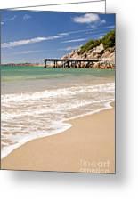 Australian Beach Greeting Card