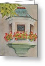 Austrian Window Greeting Card