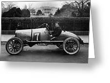 Automobiles Racing Greeting Card
