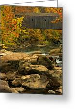 Autumn At Bulls Bridge Greeting Card