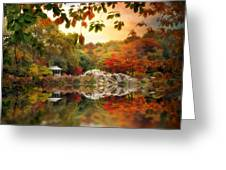Autumn At Hernshead Greeting Card