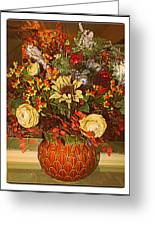 Autumn Blossoms Greeting Card