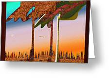 Autumn Sunrise Greeting Card