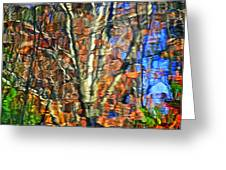 Autumnal Abstracious Greeting Card