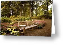 Azalea Garden Greeting Card