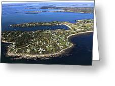 Bailey And Orrs Islands, Harpswell Greeting Card