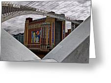 Baltic And Gateshead Millennium Bridge Greeting Card