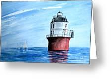 Baltimore Lighthouse  Greeting Card