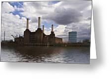 Battersea Power Station London Greeting Card