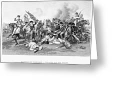 Battle Of Camden, 1780 Greeting Card