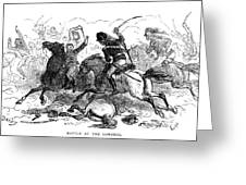 Battle Of Cowpens, 1781 Greeting Card