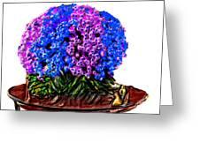 Beautiful Arrangement Of Flowers Greeting Card
