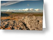 Beautiful Burren Landscape Greeting Card