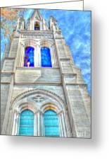 Beautiful Church Greeting Card