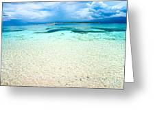 Beautiful Sea At Gili Meno - Indonesia Greeting Card