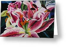 Becky's Lilies Greeting Card