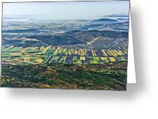 Beit Netofa Valley, Galilee Greeting Card