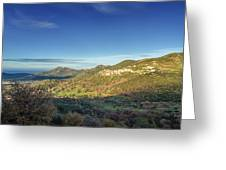 Belgodere In Corsica Greeting Card