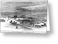 Bender Murders, 1873 Greeting Card