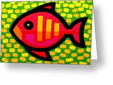 Big Fish Greeting Card