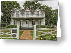 Birth Home Of Dwight D Eisenhower - Denison Texas Greeting Card
