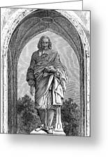 Blaise Pascal  French Philosopher Greeting Card