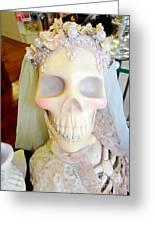 Blushing Bride Greeting Card