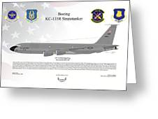 Boeing Kc-135r Stratotanker Greeting Card