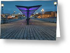 Bournemouth Pier Greeting Card