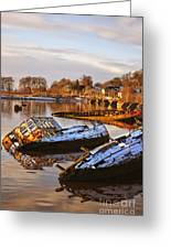 Bowling Harbour 02 Greeting Card