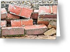 Bricks Greeting Card