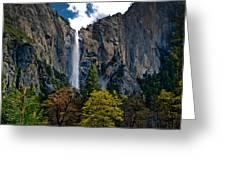 Bridalveil Falls Greeting Card