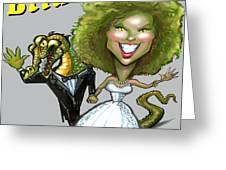 Bridezilla Greeting Card