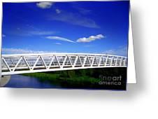 Bridge Greeting Card
