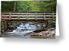 Bridge To Paradise Greeting Card