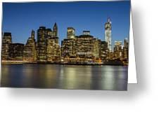 Bright Lights Big City Greeting Card