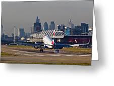 British Airways London Greeting Card