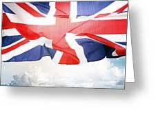 British Flag 3 Greeting Card