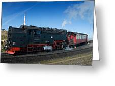Brockenbahn Greeting Card