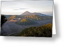 Bromo  Valley  Java Indonesia Greeting Card